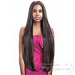 Vanessa Express Weave Synthetic Hair Half Wig - LAS PEBEL