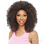 Vanessa Express Weave Synthetic Hair Half Wig - LAS JADEN