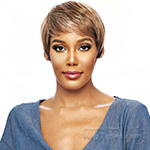 Vanessa Synthetic Slim Lite Fashion Wig with Bang - SLB SIX