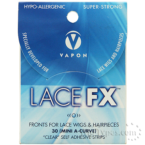 Vapon Lace FX Clear Self Adhesive Strips 30pcs