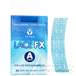 Vapon Lace FX A Curve 25 Clear Self Adhesive Strips