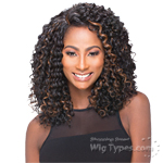Sensual Vella Vella Synthetic Hair Lace Front Wig - DORIS