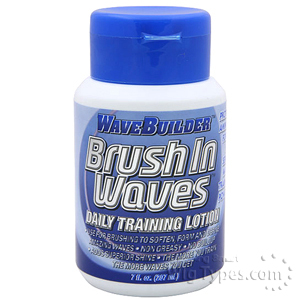 Wave Builder Brush in Waves Daily Training Lotion 6.3oz