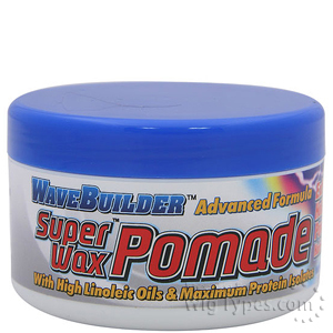 Wave Builder Super Wax Pomade 3.5oz