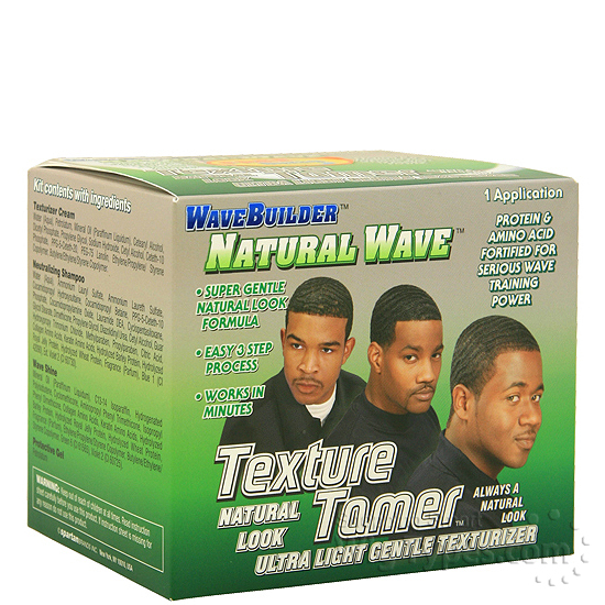 Wave Builder Natural Texture Tamer Texturizer Kit