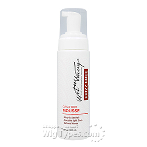 Wet-N-Wavy Frizz Free Curl & Wave Mousse 8oz