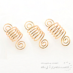 WIGO Collection Hair Accessories Braid Ring - SPIRAL 3PCS (CTG1)