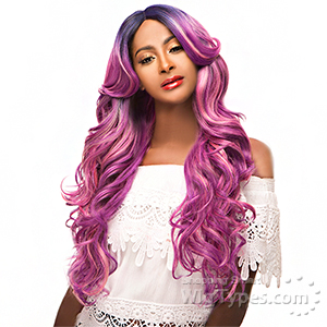 WIGO Collection Synthetic Hair Extreme Deep Natural Plucked Part Wig - BOSS (Ear-to-Ear Elastic Band Wig)