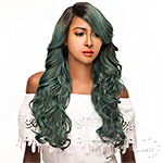 WIGO Collection Synthetic Hair Extreme Deep Natural Plucked Lace Front Wig - LACE CIARA (Ear-to-Ear Elastic Band Wig)