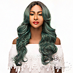 WIGO Collection Synthetic Hair Extreme Deep Natural Plucked Part Wig - JOO (Ear-to-Ear Elastic Band Wig)