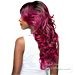 WIGO Collection Synthetic Hair Extreme Side Deep Natural Plucked C-Shape Part Wig - MAXI (Ear-to-Ear Elastic Band Wig)