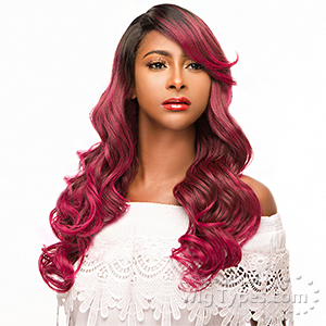 WIGO Collection Synthetic Hair Extreme Side Deep Natural Plucked C-Shape Part Wig - WENDY (Buy 1 Get 1 Free)