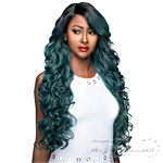 WIGO Collection Synthetic Hair Extreme Side Deep Natural Plucked Lace Front Wig - LACE ENCIA