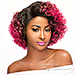 WIGO Collection Synthetic Hair Extreme Side Deep Natural Plucked Lace Front Wig - LACE HALLE (Ear-to-Ear Elastic Band Wig)