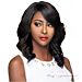 WIGO Collection Synthetic Hair Extreme Side Deep Natural Plucked Lace Front Wig - LACE LULU (Ear-to-Ear Elastic Band Wig)