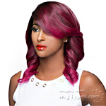 WIGO Collection Synthetic Hair Extreme Side Deep Natural Plucked Lace Front Wig - LACE LULU (Buy 1 Get 1 Free)