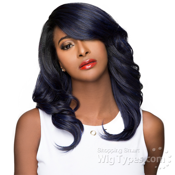 Wigo Collection Synthetic Hair Extreme Side Deep Natural Plucked