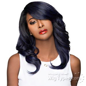 WIGO Collection Synthetic Hair Extreme Side Deep Natural Plucked Lace Front Wig - LACE PERRY (Buy 1 Get 1 Free)