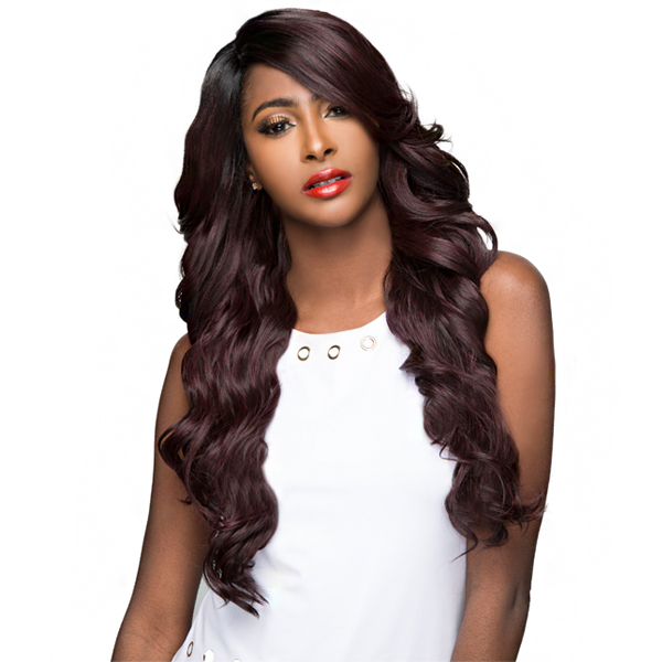 WIGO Collection Synthetic Hair Extreme Side Deep Natural Plucked Lace Front Wig - LACE VIOLA