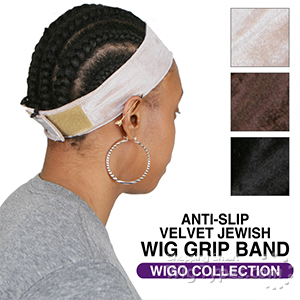 WIGO Collection - Anti-Slip Velvet Wig Grip Comfort Band