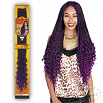 Zury Sis Synthetic Hair Braid - GODDESS LOC DEEP CURL 26