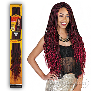 Zury Sis Synthetic Hair Braid - 2X GODDESS LOC LOOSE WAVE 18