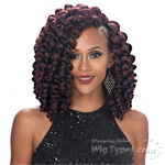 Zury Sis Naturali Star Synthetic Hair Braid - V-8-9-10 ROD SET (V-Shape Finish Style / One Pack Enough)