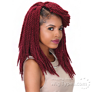 Zury Sis Synthetic Hair Braid - SENEGALESE TWIST BIG 12