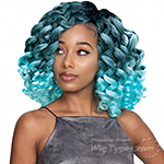 Zury Sis Naturali Star Synthetic Hair Braid - V-8-9-10 KONGO CURL (V-Shape Finish Style / One Pack Enough)
