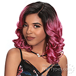Zury Sis Prime Human Hair Blend C-Part Lace Front Wig - PM ERIN