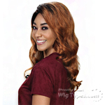 Zury Sis 100% Human Hair C Part Lace Front Wig - HRH SWISS LACE GABBY
