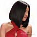 Zury Sis 100% Human Hair I Part Lace Front Wig - HRH SWISS LACE LENA