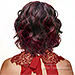 Zury Sis Synthetic Hair Invisible Top C Part Lace Wig - IV LACE H ROCHER