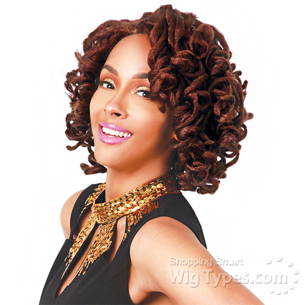 Zury Sis Synthetic Hair Faux Locs Swiss Lace Front Wig