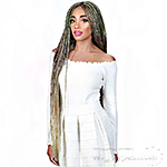 Zury Sis Diva Collection Synthetic Hair Lace Front Wig - BRAID BOX 38