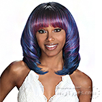 Zury Sis Glam Synthetic Hair Wig - GLAM H REN (hand tied top crown)