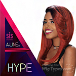 Zury Sis Synthetic Hair Pre Tweezed Part Wig - A LINE-H HYPE