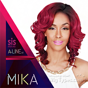 Zury Sis Synthetic Hair Wig - A LINE H MIKA