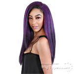 Zury Sis Synthetic Hair Dual Color Reversible Half Wig - CF H RV ANTRA