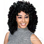 Zury Sis Synthetic Hair Dual Color Reversible Half Wig - CF-RV DALE