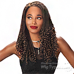 Zury Sis Zury Loc Synthetic Hair C part Wig - DEEP CURL