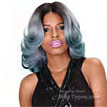 Zury Sis Diva Collection Synthetic Hair Pre Tweezed Part Wig - DIVA H JOA