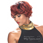 Zury Sis Diva Collection Synthetic Hair Pre Tweezed Part Wig - DIVA H OMNIA