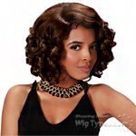 Zury Sis Glam Synthetic Hair Pre Tweezed Part Wig - GLAM H CARLA