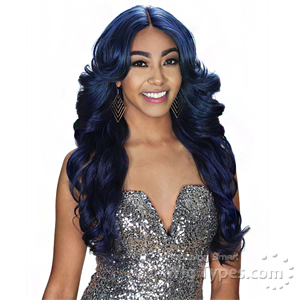 Zury Sis Glam Synthetic Hair Pre Tweezed Part Wig - GLAM H JOO