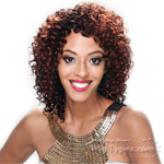 Zury Sis No.8 Human Hair Natural Mix Wig - HB NO.8 DEEP CURL