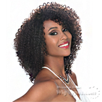 Zury Sis Naturali Star 100% Human Hair Pre Tweezed Part Wig - HR NAT 3C VERA