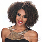 Zury Sis Naturali Star Synthetic Hair Pre Tweezed Part Wig - NAT H 3C DARA