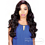 Zury Sis Sassy Synthetic Hair 6 inch Half Moon Part Wig - SASSY HM H BOO