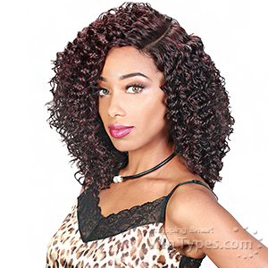 Zury Sis Sassy Synthetic Hair 6 inch Half Moon Part Wig - SASSY HM H PAM